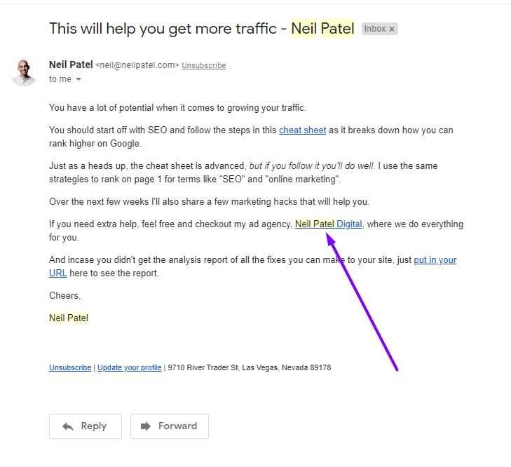 Neil Patel email