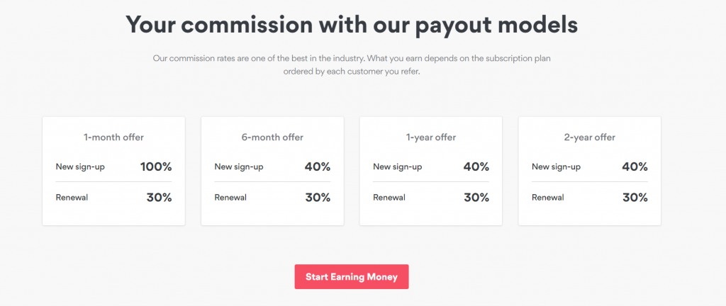 commission payout models