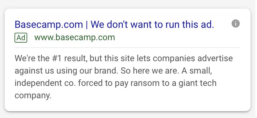 basecamp ad screenshot