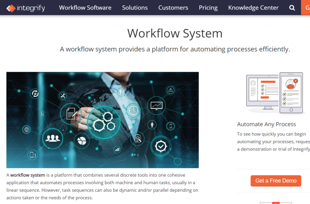integrify workflow system